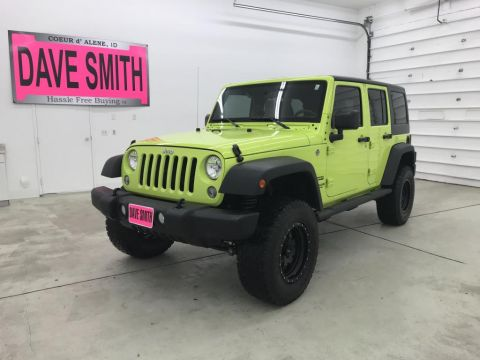 Pre-Owned 2016 Jeep Wrangler Unlimited Sport 4WD 4WD 4dr