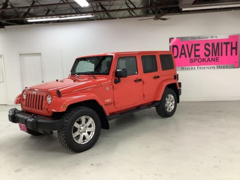 Pre-Owned 2013 Jeep Wrangler Unlimited Sahara 4WD Sport Utility
