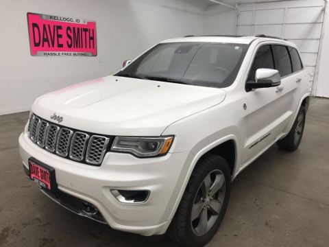 Pre-Owned 2017 Jeep Grand Cherokee Overland 4WD 4x4
