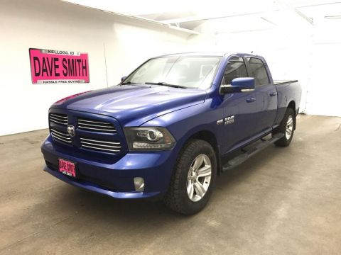 Pre-Owned 2014 Ram 1500 Sport Crew Cab Short Box 4WD Crew Cab Pickup