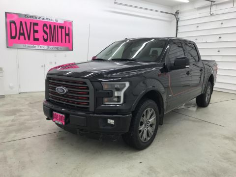 Pre-Owned 2016 Ford F-150 Lariat Crew Cab Short Box 4WD 4 Door Cab; Styleside; Super Crew