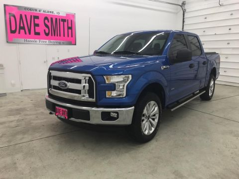 Pre-Owned 2016 Ford F-150 XL 4WD Crew Cab Pickup
