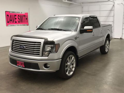 Pre-Owned 2011 Ford F-150 Crew Cab Short Box 4WD 4 Door Cab; Styleside; Super Crew