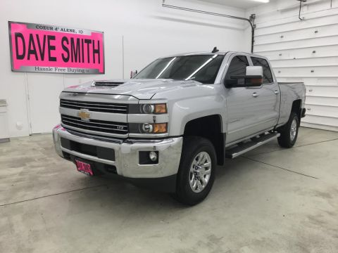 Pre-Owned 2018 Chevrolet Silverado 2500 LTZ Crew Cab Short Box 4WD Crew Cab Pickup