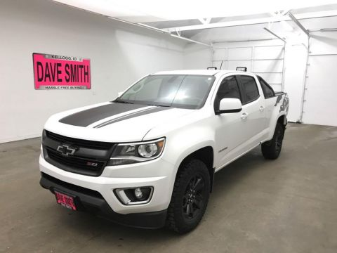2017 Chevrolet Colorado Crew Cab Short Box