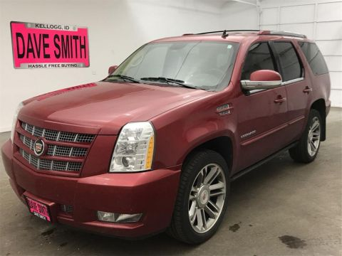 Pre-Owned 2013 Cadillac Escalade Premium 4WD AWD 4dr