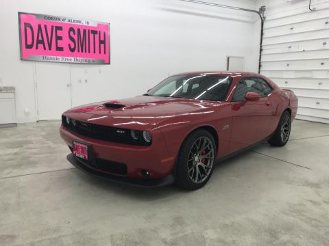 Pre-Owned 2016 Dodge Challenger SRT RWD 2dr Cpe