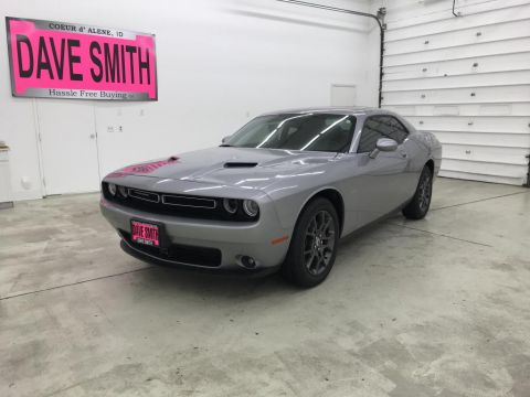 Pre-Owned 2018 Dodge Challenger GT AWD 2dr Car