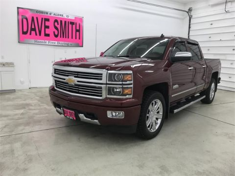 Pre-Owned 2014 Chevrolet Silverado 1500 High Country RWD 4D Crew Cab