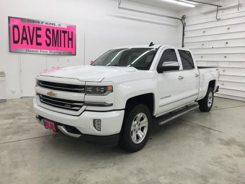 Pre-Owned 2016 Chevrolet Silverado 1500 LTZ Crew Cab Short Box 4WD Crew Cab Pickup