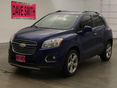 Pre-Owned 2015 Chevrolet Trax LTZ AWD AWD 4dr