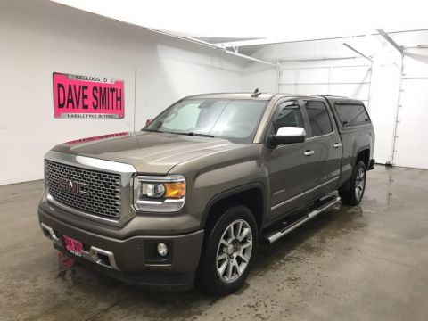 Pre-Owned 2015 GMC Sierra 1500 Denali Crew Cab Short Box 4WD Crew Cab Pickup
