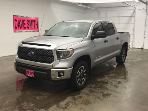Pre-Owned 2018 Toyota Tundra TRD Crew Cab Short Box 4WD 4 Door Cab; Crew Max