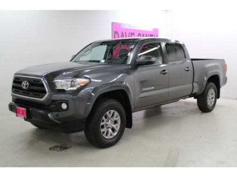 Pre-Owned 2017 Toyota Tacoma 4WD 4 Door Cab; Double Cab; Super Long Wheelbase